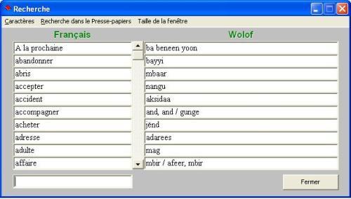 dictionnaire 4